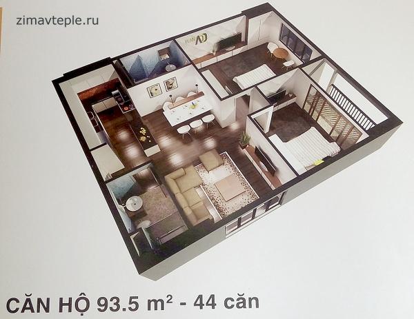 Квартира в Стеллар с видом на море угловая большая