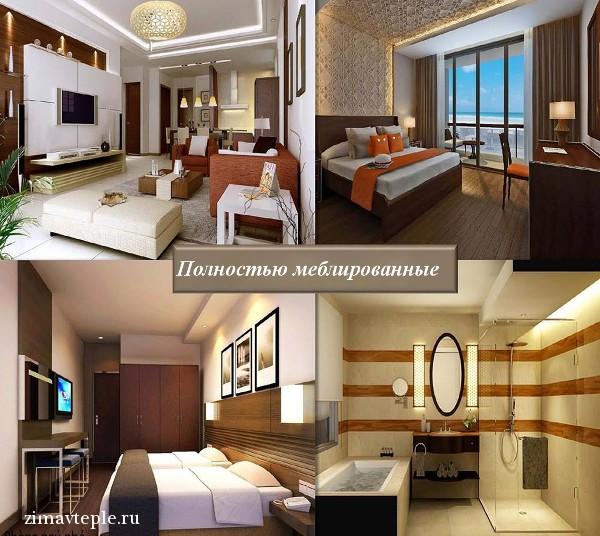 внутренний дизайн квартиры в Арияна