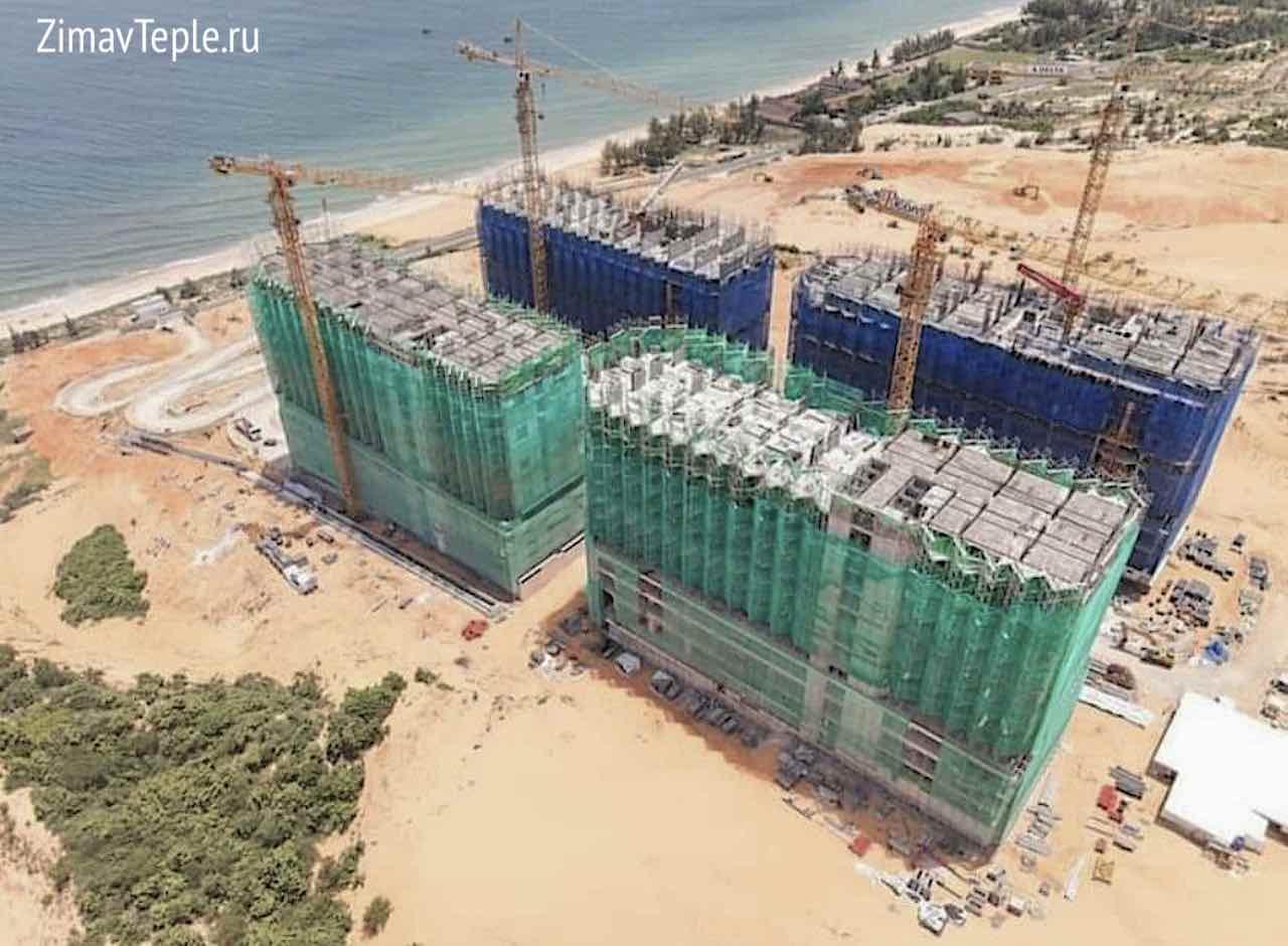 Прогресс строительства Апек Мандала Виндхам Муйне