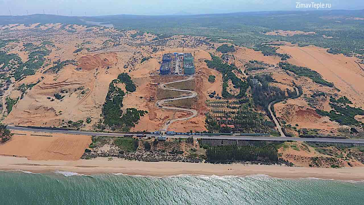 Вид со стороны моря на Апек Мандала Виндхам Муйне