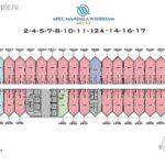 План этажа в Апек Мандала Виндхам Муйне
