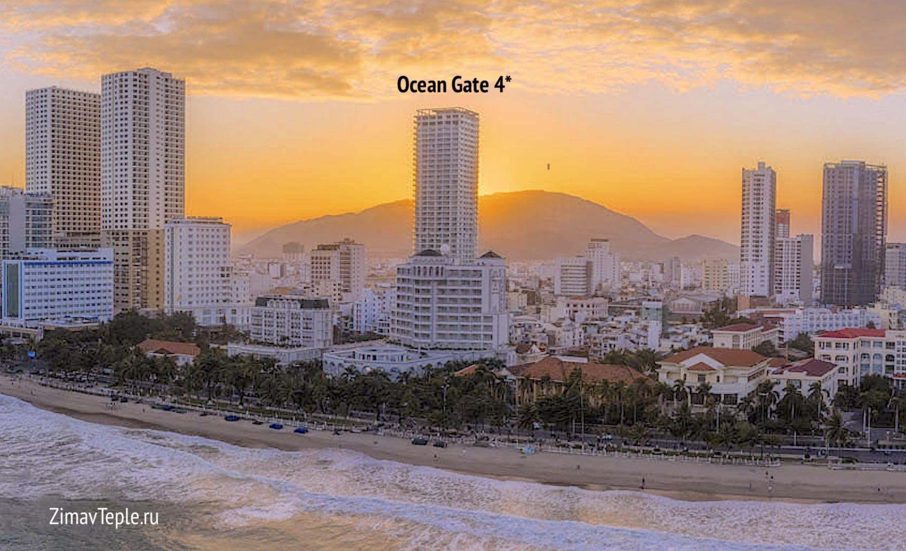 Новостройка в финальной стадии Ocean Gate 4* в Нячанге