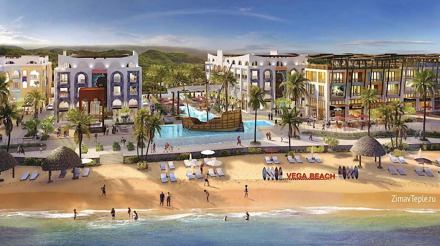 Vega City Nha Trang продажа таунхаусов в частную собственность иностранцам