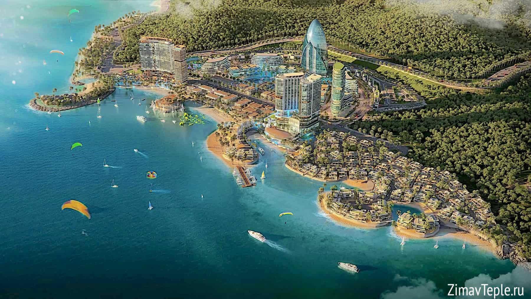 Вега Сити Нячанг план поселка
