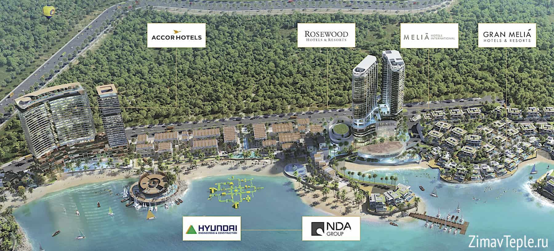 Vega City Nha Trang Vietnam - новый объект недвижимости в Нячанге